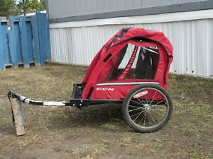 CCM two seater bicycle trailer