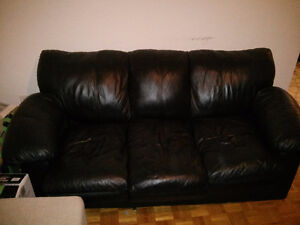 Divan Cuire - Leather Couch