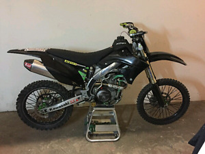 2009 kx 450f for sale or trade for truck car 4 wheeler or dbike