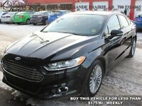 2013 Ford Fusion Titanium   -  HEATED SEATS - $156.35 B/W  - Low