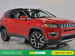 2017 Jeep Compass Limited 4X4 Apple-CarPlay Démarreur Cuir-Chauf