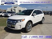 """2014 Ford Edge """"LIMITED AWD LEATHER/MOON/""""   - Accident Free - L"""