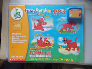2 New Leap Frog Imagination Desk Learning Cartridges