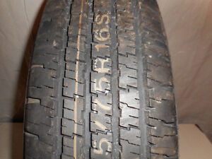 1-P225/75R16 104S HANKOOK MUD AND SNOW ASK ABOUT 734