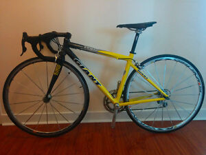 RARE Road Bike Men's Women's Giant TCR two Small Compact Frame