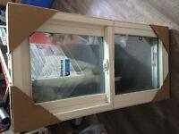 2 Casement basement windows (vinyl) 40x20