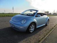 2003 Volkswagen Beetle 2.0 Cabriolet