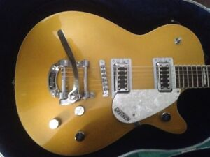 GRETSCH   ELECTROMATIC GOLD TOP