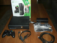 xbox 360 slim 250 Gb + 22 games+ 1 wireless controller!