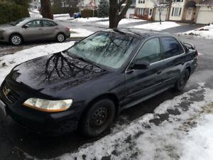 2002 Honda Accord SE Sedan, Manual
