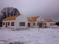 ICF (insulated concrete forms)