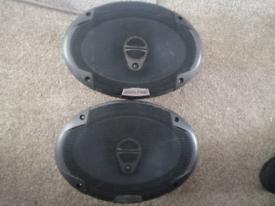 Alpine 6*9 speakers