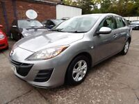 Mazda 3 1.6D TS (1 OWNER + LOW RATE FINANCE AVAILABLE) (aluminium/silver) 2010