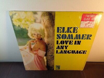 ELKE SOMMER LOVE IN ANY LANGUAGE 1965 MGM SE-4321 / Cheesecake Glamour Cover
