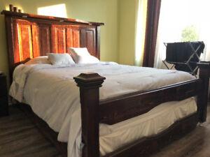 Custom Queen bed frame