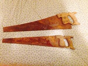 Antique Hand Saws, Great for Tole Painting