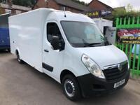 2016 16 VAUXHALL MOVANO 2.3 CDTI, 136 BHP, F3500 L3H2 LOW LOADER BOX, BLUETOOTH,