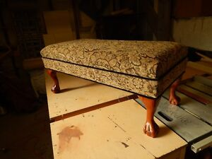 This is custom built by myself, I am an upholsterer of 35 years