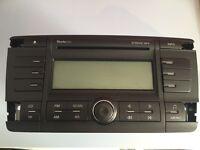 Skoda Octavia stereo radio CD player.