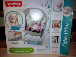 Fisher Price Deluxe Take-a-long Swing and Seat