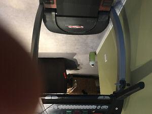 Pro-foam electric treadmill