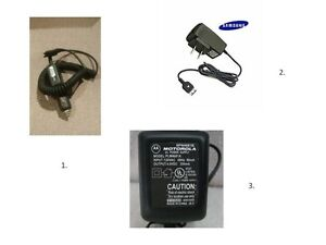 Various Cell Phone Chargers/Power Supplies - $5 each