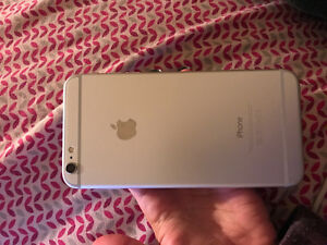 VERY MINT WHITE/SILVER IPHONE 6 PLUS 16GB FOR SALE