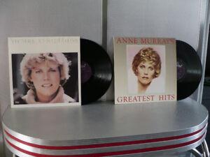 ANNE MURRAY VINYLS-LONG JEU ( 2 POUR $ 15.00 )