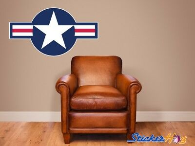 AIR FORCE STAR INSIGNIA WALL DECAL 36