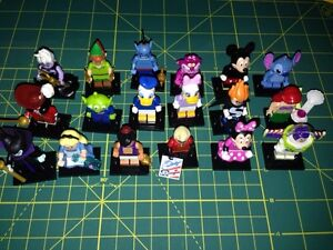 Disney Lego Minifigures complete set of 18