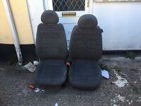 Combo van seats