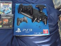 PS3 and 8 games