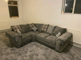 4 Seater Verona Corner Sofa With Scatter Back Cushions