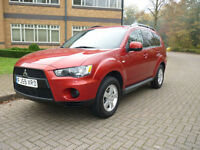 SOLD NOW 2010 Mitsubishi Outlander 2.4 Auto CVT LPG Left hand drive lhd UK