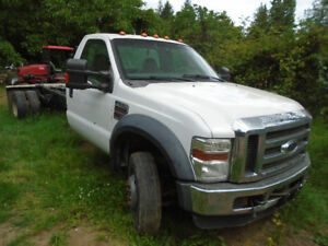 2008 Ford XLT F550 4x4 Diesel cab  chassis