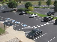 Parking Lot Line Painting /Pavement Marking