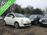 2010 10 FIAT 500 1.4 LOUNGE 3DR 99 BHP PANORAMIC ROOF