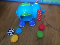 ELC Early Learning Centre Pull along posting Elephant toy