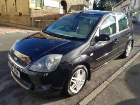 2007MY Ford Fiesta 1.6 TDCi Ghia * Full Cream Leather * £30 Tax* Cambelt Changed