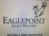 Golf at Eaglepoint and Advertise your Business - GREAT OFFER!!!