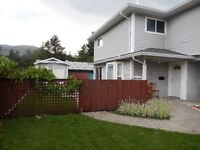 Three bedroom, end unit, townhouse in a quiet, central location.