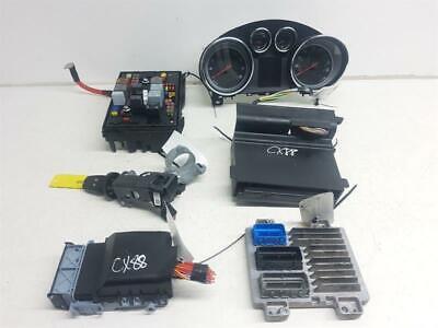 Vauxhall Zafira Tourer C 2012 To 2016 ECU Set Cluster Fuse+BSI KIT BCM Ignition