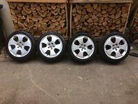"17"" genuine Audi alloy wheels 5x112 golf a3 a4 seat skoda Passat"