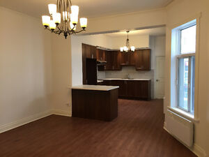 7 1/2 Apartment fully renovated on Esplanade Mile-End Montreal