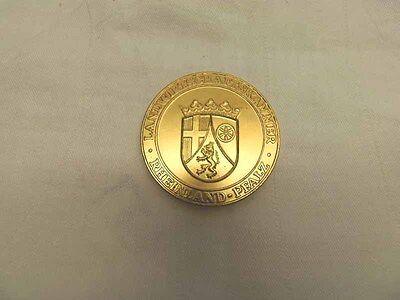 Goldmedaille Landwirtschaftskammer Rheinland-Pfalz Für besondere Leistungen