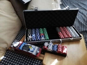 Deluxe Poker Chip Set $30 -- SALE PENDING