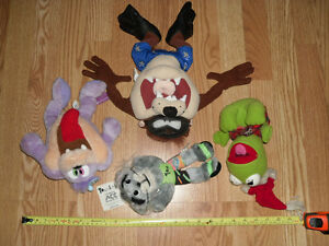 Tiny Looney Toons Tom & Jerry Muppet Babies Stuffed Plush Toys
