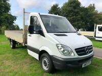 Mercedes-Benz Sprinter 313Cdi 3.5T, 14ft Dropside, Only 53924 Miles from New
