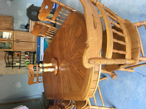 Oak dining set for sale