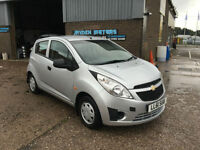 2012 Chevrolet Spark 1.0 + PLUS 5 DOOR HATCHBACK,ONLY 24000 MILES WITH FSH
